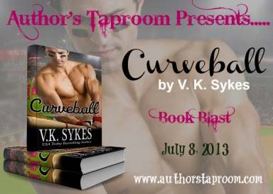 Curveball Book Blast Badge