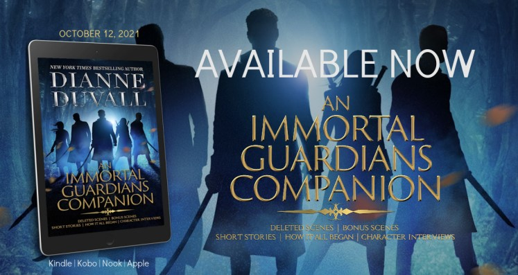Release Day:  The Immortal Guardians Companion by Dianne Duvall